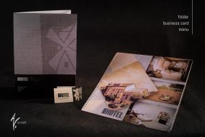 Bussiness Cards, MENU & Folders custom made for Hotel Mlyn, located in Zavar near Trnava, Slovakia.